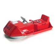Luge SNOWCOMET 100 rouge