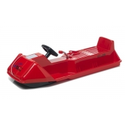 Luge SNOWCOMET 120 rouge
