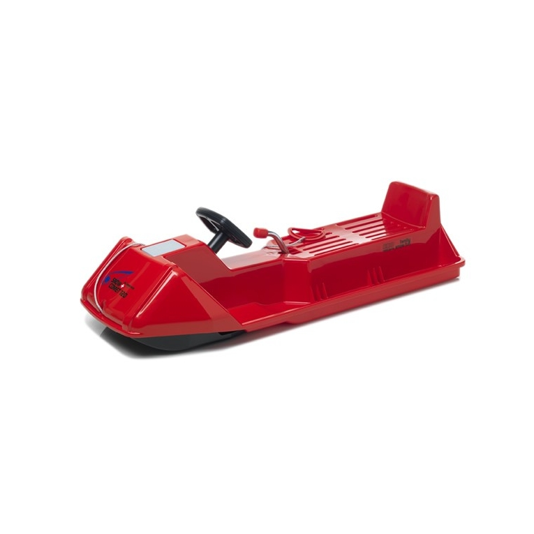 luge avec volant snowcomet eko 120 cm rouge. Black Bedroom Furniture Sets. Home Design Ideas