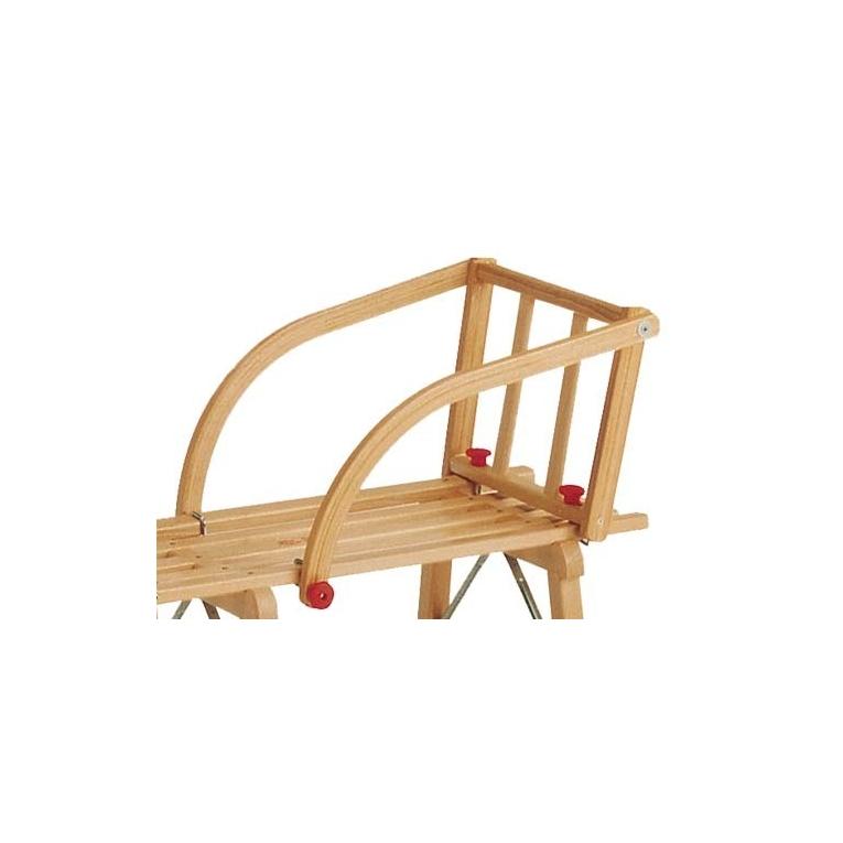 si ge pour luge enfant avec barreaux en bois. Black Bedroom Furniture Sets. Home Design Ideas