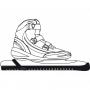 Protection pour lames de vitesse patin à glace