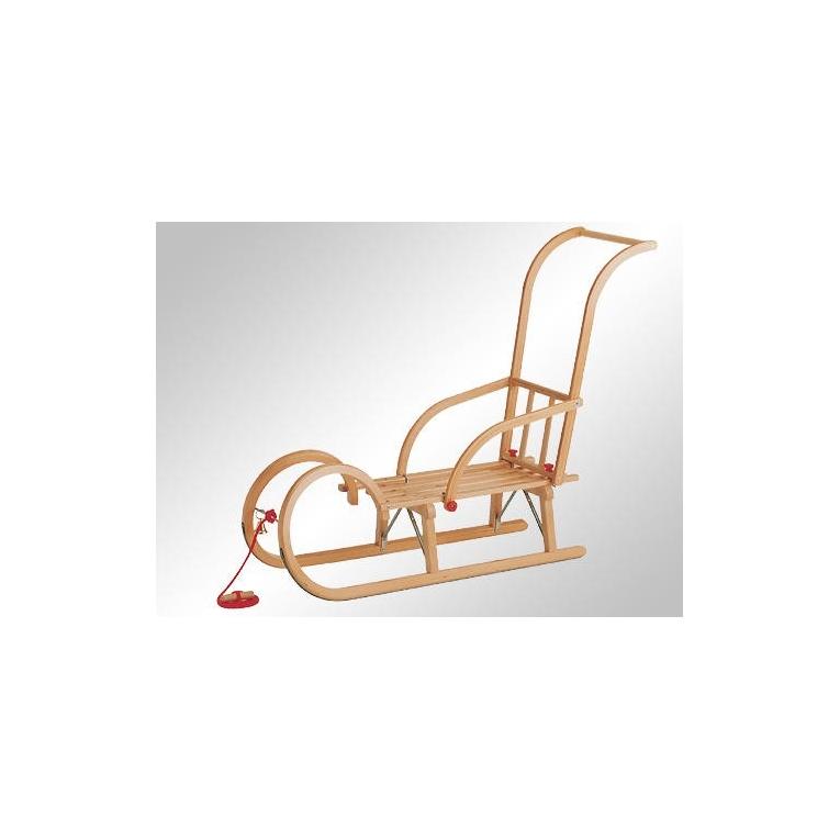 Luge En Bois Pliable : Kit Luge Traditionnelle en bois 100 cm pour enfant, distribu? par