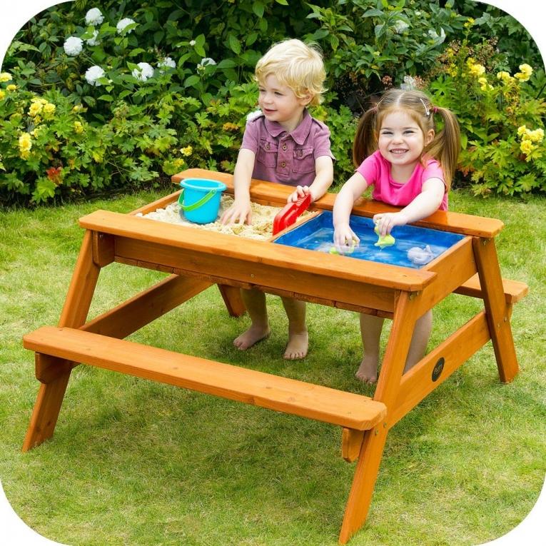 Table De Jardin Bac 224 Sable De Plum
