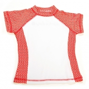 T-shirt anti uv manches courtes Funcky rouge
