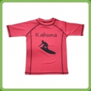 T-Shirt anti uv manches courtes enfant Red Kahuna