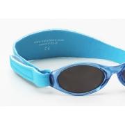 Lunettes de soleil anti uv bébé de 0 à 2 ans - Bleu Clair