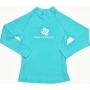 T-Shirt manches longues anti uv - Solid Aqua