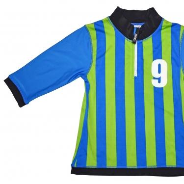 T-shirt de bain anti uv enfant - Sport Bleu