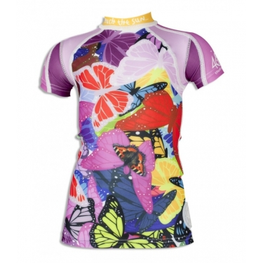 T-shirt anti uv manches courtes enfant - Butterfly