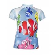 T-shirt anti uv manches courtes enfant - Little Clown