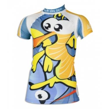 T-shirt anti uv manches courtes enfant - Seahorse