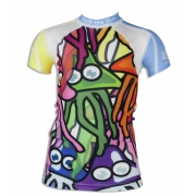 T-shirt anti uv manches courtes enfant - Funny Jelly
