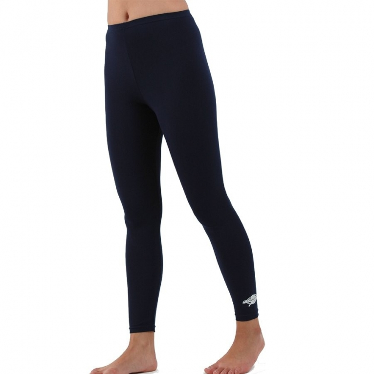 stingray legging de bain anti uv femme bleu marine