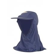 Casquette de bain Nomade anti uv adulte - Bleu Marine