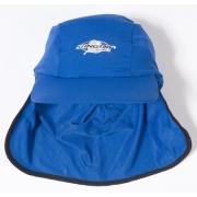 Casquette de bain anti uv adulte mixte - Bleu marine