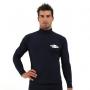 T-shirt de surf manches longues anti uv taille Plus homme - Bleu marine