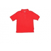 Polo manches courtes anti uv junior - Rouge
