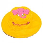 Chapeau soleil anti uv enfant réversible Elephant/Souris