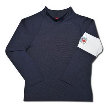 T-shirt manches longues anti uv enfant - Bleu marine