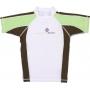 T-Shirt manches courtes anti uv - Vert/Marron/Blanc