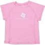 T-Shirt manches courtes anti uv - Solid Pink cap sleeve