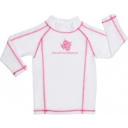 T-Shirt manches longues anti uv - Blanc/Rose