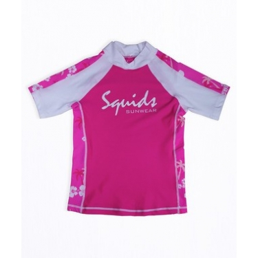 T-shirt anti uv enfant - Pink Power