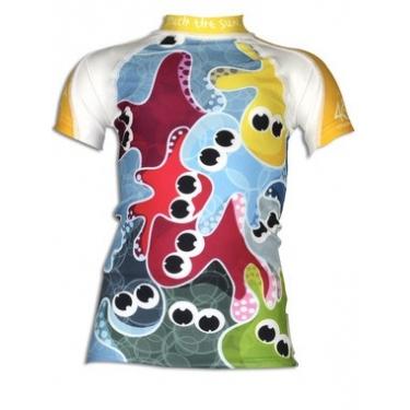 T-shirt anti uv manches courtes enfant - Octopus