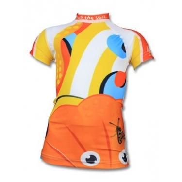 T-shirt anti uv manches courtes enfant - Little Sea