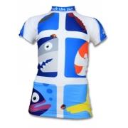 T-shirt anti uv manches courtes enfant - Pic Fish