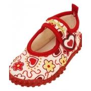 Chaussures de plage anti uv enfant - coeurs
