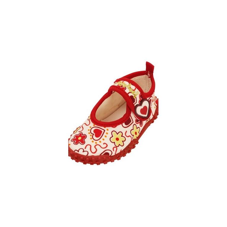 playshoes chaussures de plage anti uv enfant c urs. Black Bedroom Furniture Sets. Home Design Ideas