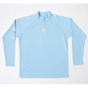 T-Shirt manches longues anti uv adulte mixte - Bleu clair