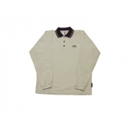 Polo manches longues anti uv adulte - Beige