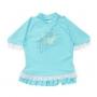T-shirt de bain manches courtes anti uv Fille - Atoll