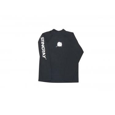 T-Shirt manches longues anti uv adulte mixte - Noir