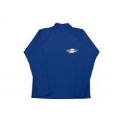 T-shirt de surf manches longues anti uv mixte - Bleu Ocean