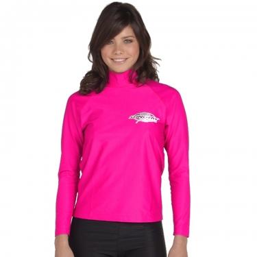 T-shirt de surf manches longues anti uv mixte - Topaz