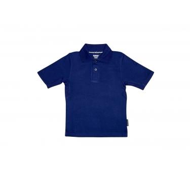Polo manches courtes anti uv adulte - Bleu marine