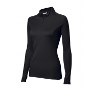 Tee-shirt Thermolactyl® col zippé Easy body 4 femme, Damart