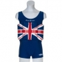 Maillot de bain anti uv flottant Great Britain mixte